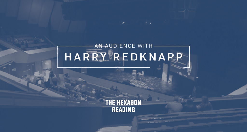 The Hexagon and An Audience with Harry Redknapp logo