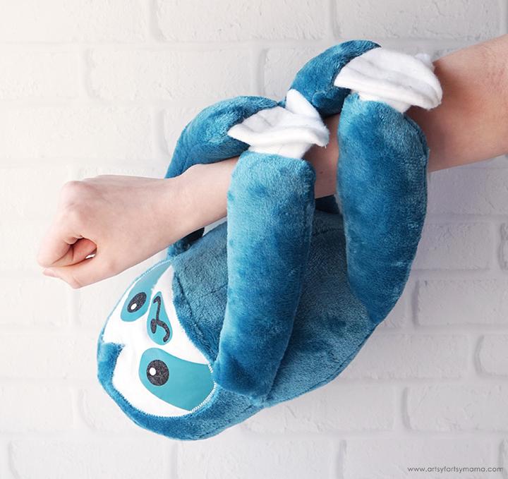 DIY Snuggle Sloth