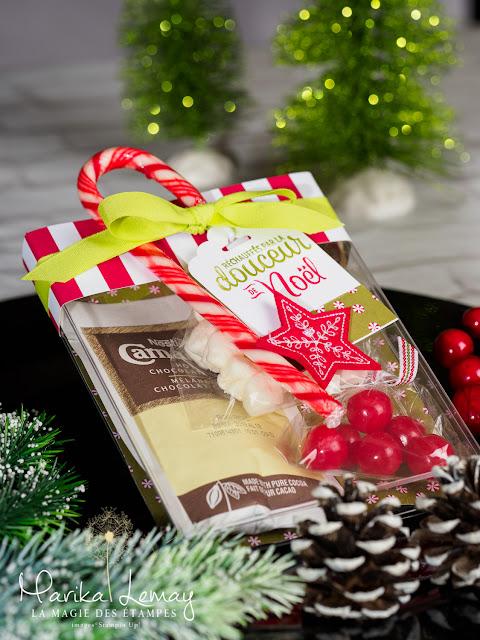 trousse à chocolat chaud pour Noël