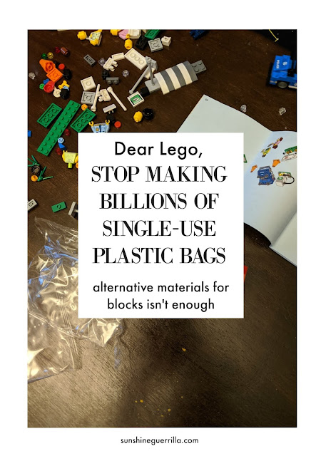 Dear Lego, Forget about the Blocks- Stop Making Single Use Plastic Bags Today!