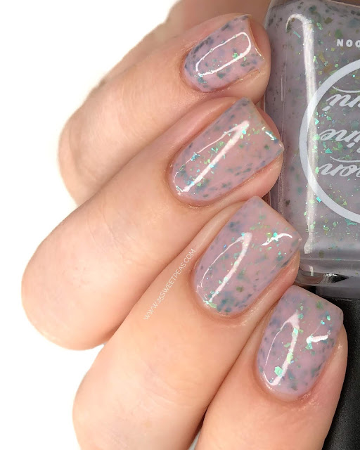 Moon Shine Mani Out for What Do you Need a Gun?