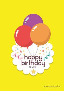 happy birthday greetings live