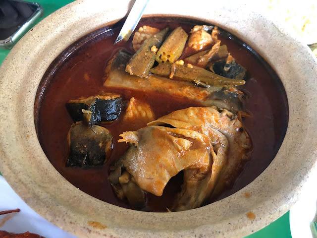 Gulai Kari Ikan Sembilang Kuala Sepetang