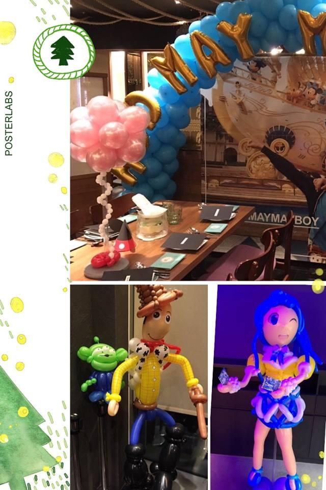 氣球胡迪&氣球偶像學園