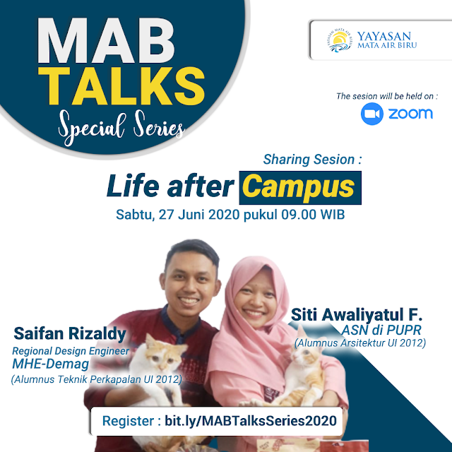 Poster MAB Talks Life after Campus