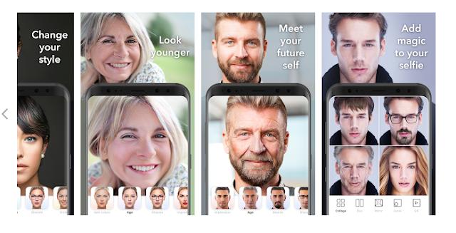 شرح كيفية إستخدام تطبيق FaceApp لتعديل صورك للأندرويد