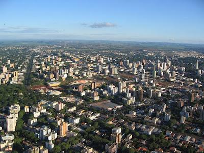 Maringá cidade de crescimento expressivo