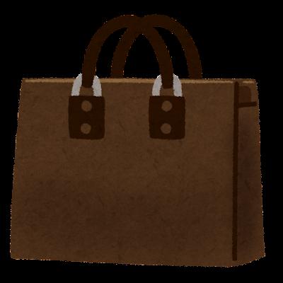 ビジネスバッグのイラスト