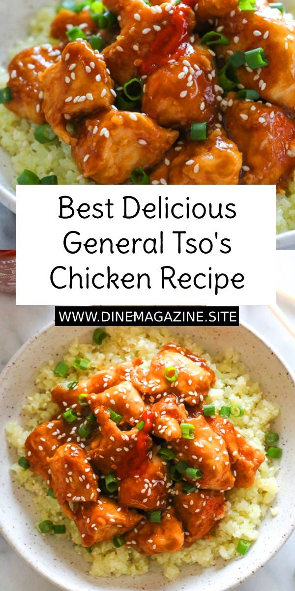 Best Delicious General Tso's Chicken - General Tso's Chicken is a favorite Chinese food takeout choice that is sweet and slightly spicy with a kick from garlic and ginger. #bestdinner #bestdinnerrecipe #generaltsoschicken #chickenrecipe #bestchickenrecipe #delicious #chineserecipe #chinesefood #asianrecipe #asianfood #dish #maindish