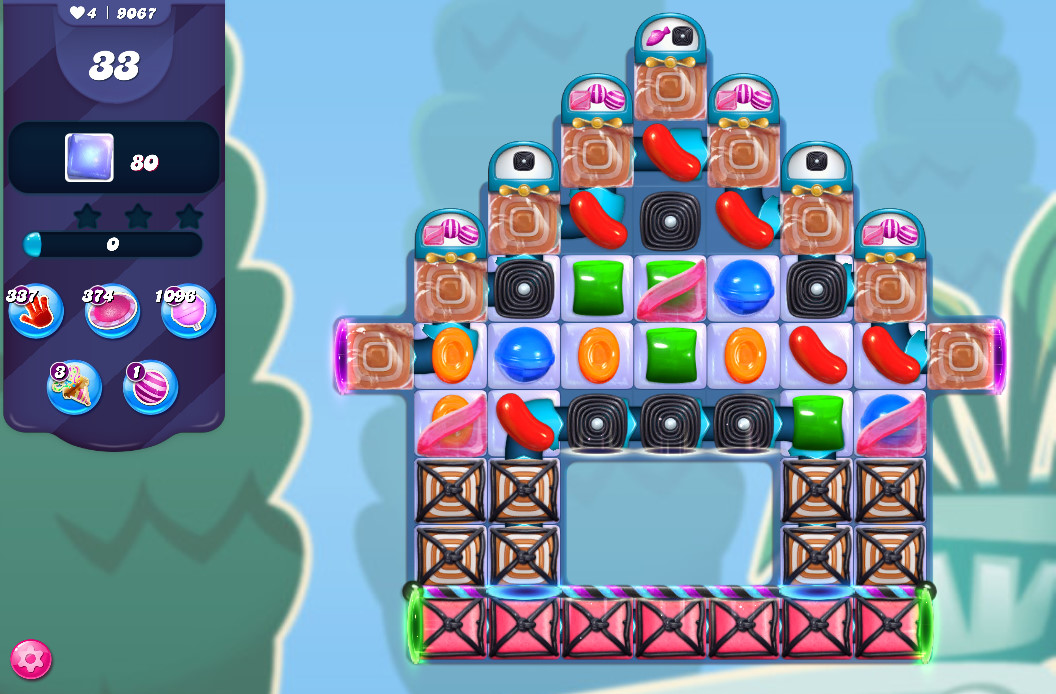 Candy Crush Saga level 9067