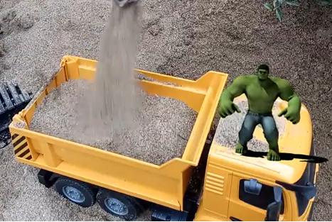 Big truck toys, dump truck toys, pokemon mcdonalds toys