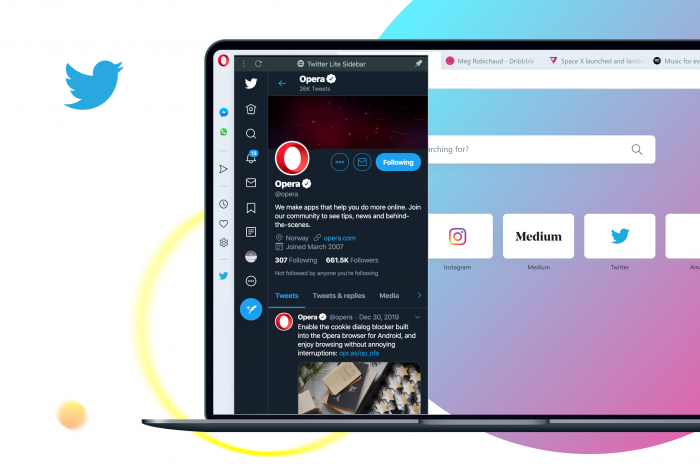 Opera 66 disponibile su desktop | Novità