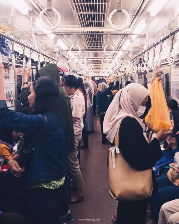 hal-hal yang dilarang di kereta jepang