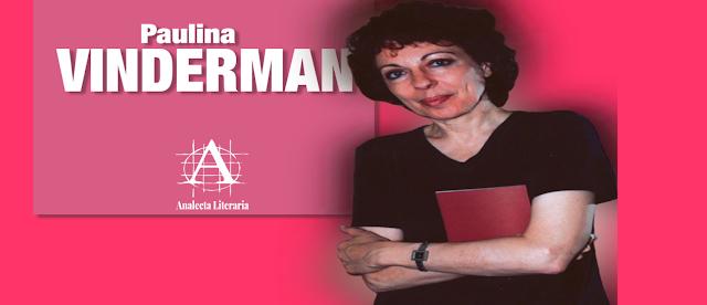 Paulina Vinderman  |  Poemas