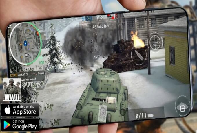 تحميل لعبة الحرب العالمية الثانية ww2 للاندرويد مع fps عالي جدا World War 2 APK
