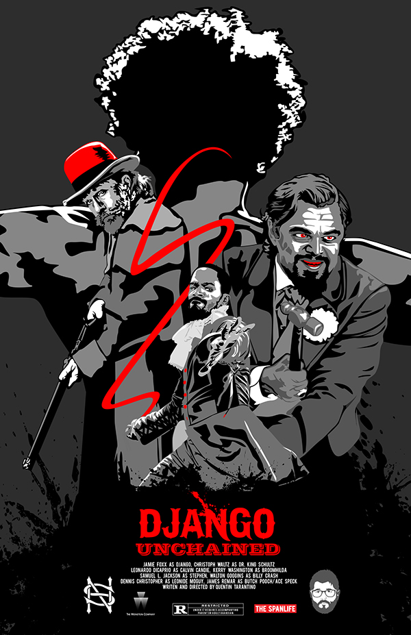 Dave S Movie Site The Films Of Quentin Tarantino Django Unchained 2012
