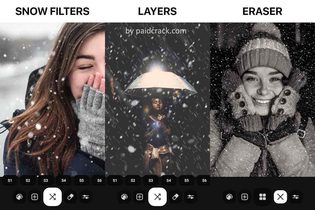 Just Snow - Photo Effects Pro Mod Apk 5.1