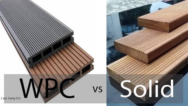 Decking kayu vs WPC