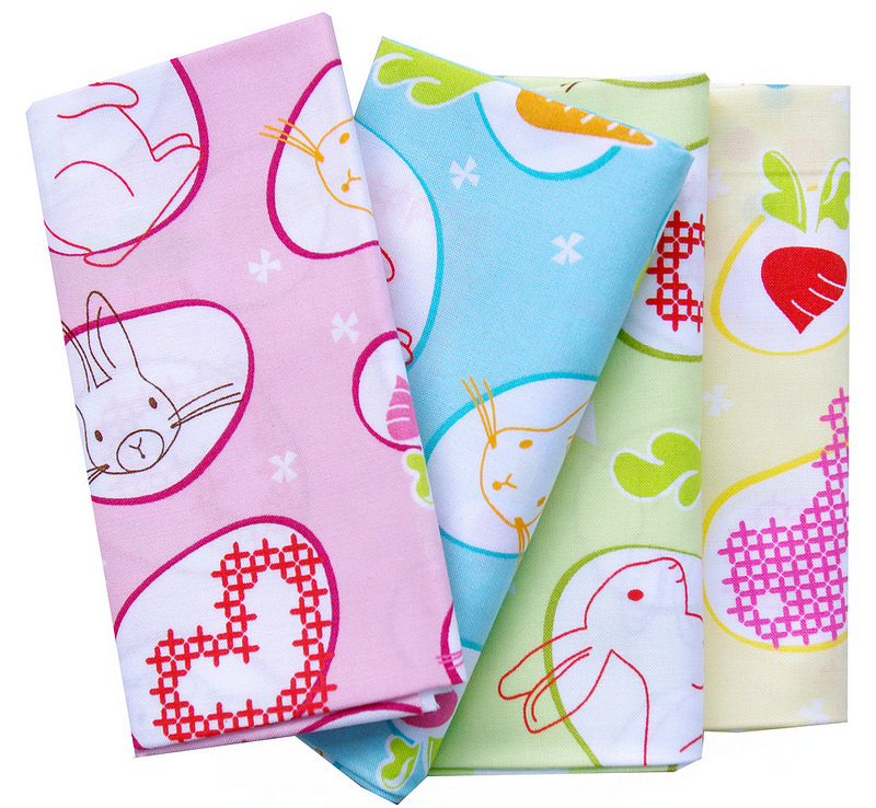 Bunny Trail by Jodie Carleton for Ella Blue Fabrics | Red Pepper Quilts 2016