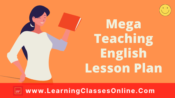 Mega Teaching English Lesson Plan for B.Ed and School Teachers On The Road Not Taken Poem For Class 9 Free Download PDF
