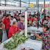 Wali Kota Gunungsitoli Gratiskan Biaya Sewa Lapak Pedagang di Pasar Rakyat