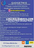 Loker Surabaya di Gadgernio Distributor Aksesoris Handphone Juli 2020
