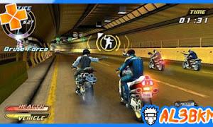 تحميل لعبة Pursuit Force Extreme Justice PSP مضغوطة لمحاكي ppsspp