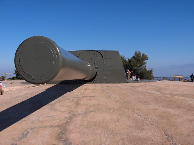 Baterías de defensa - Monte de las Cenizas