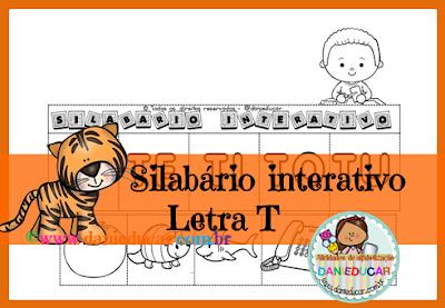 Letra T, Atividades de 1º ano, ALFABETO, atividades do alfabeto, PDF, para imprimir, BNCC,