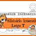 Letra T - atividades de alfabetização