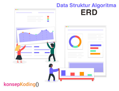 Pengertian ERD, Fungs, Simboli ERD Dan Contoh ERD