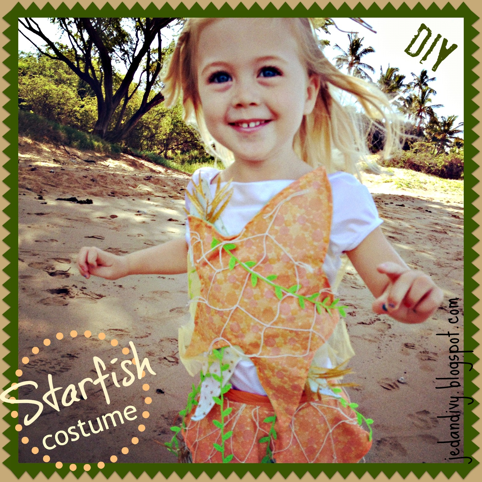 DIY Starfish Costume  sc 1 st  Ivy u0026 Co. & DIY Starfish Costume | Ivy u0026 Co.