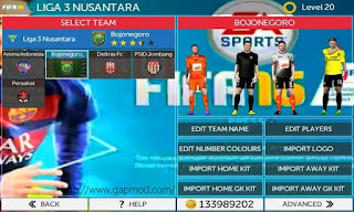 FTS Mod FIFA 16 by Anwar Apk + Data Obb