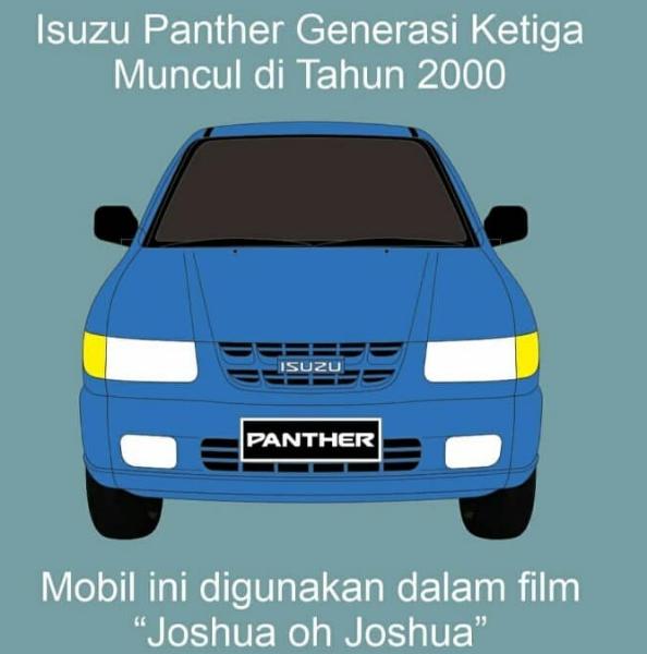 Isuzu panther generasi Ketiga