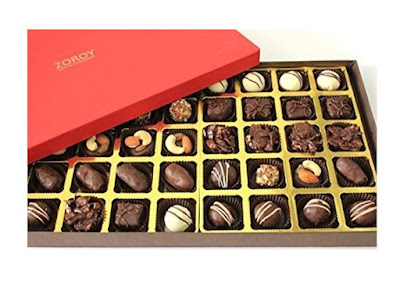 ZOROY Assorted Chocolate Signature Deluxe Red Pack Of 40