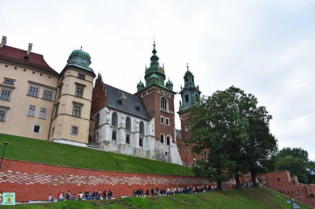 Colina Wawel, Cracovia