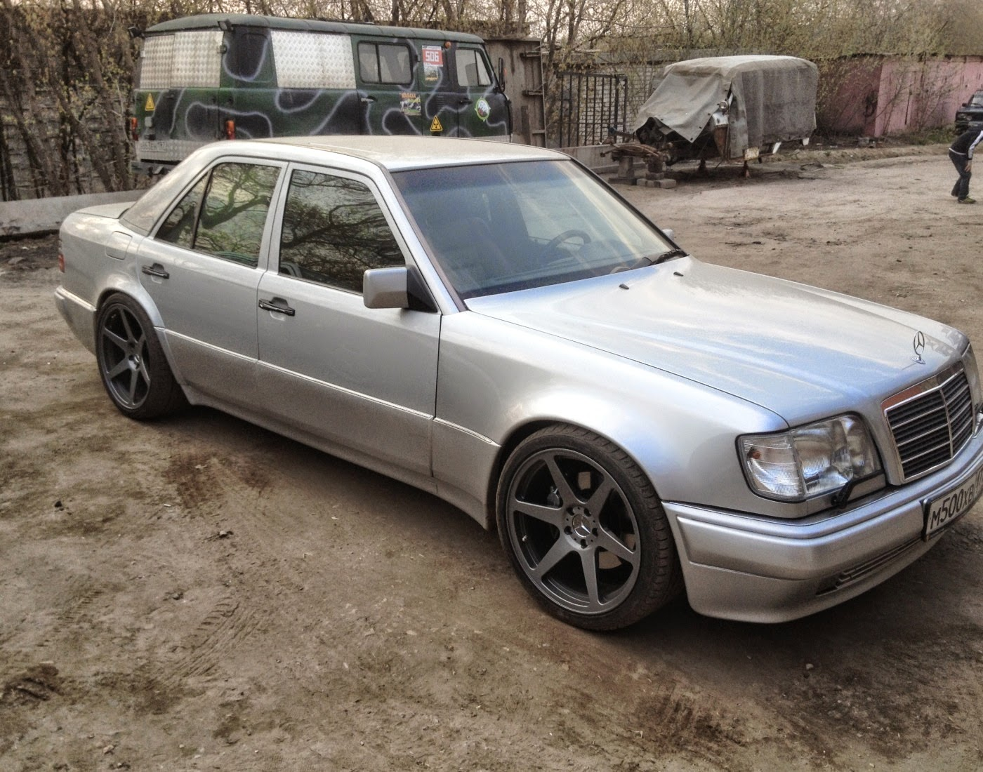 Mercedes Benz W124 E500 Mae Exhaust Video Benztuning