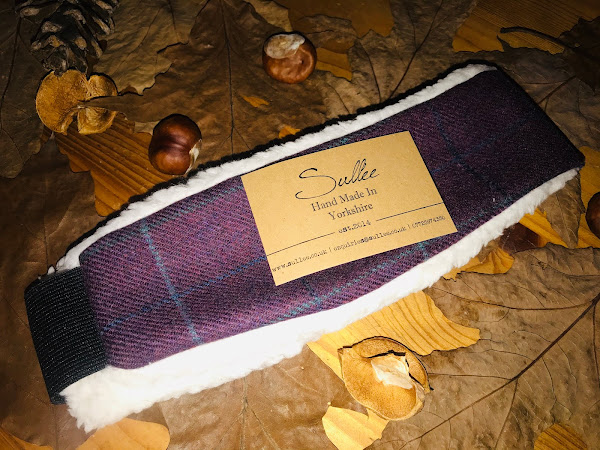 Sullee Made in Yorkshire - Sherpa Lined Tweed Headband