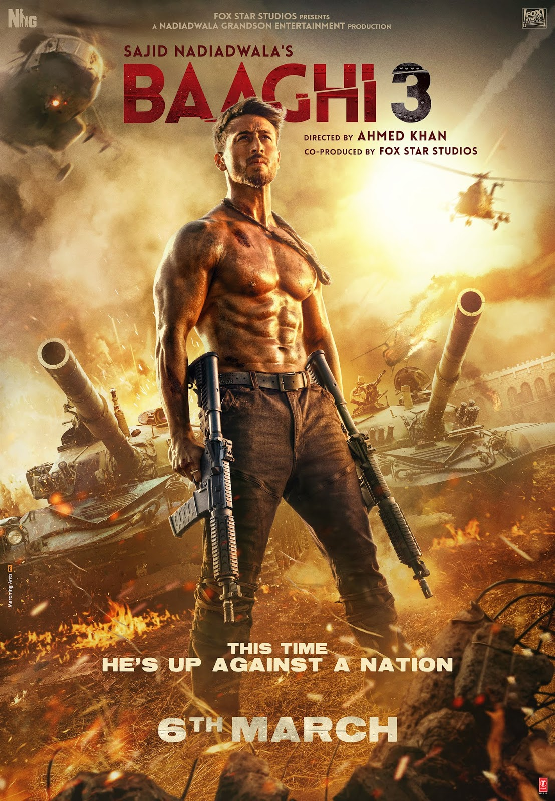Baaghi 3 (2020) Movie Wiki Full Star Cast, Release Date, Sound Track & Official Trailer
