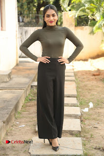 Tollywood Actress Punarnavi Bhupalam Latest Po Gallery in Black Trouser Pant at Pittagoda Movie Interview  0142.JPG