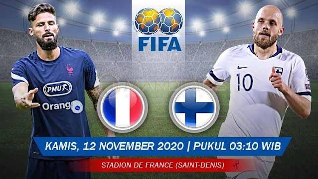 Prediksi Prancis Vs Finlandia, Kamis 12 November 2020 Pukul 03.10 WIB @ Mola TV