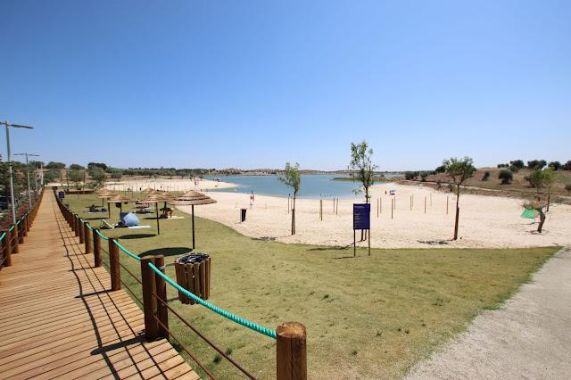 Passadiço da Praia de Alqueva