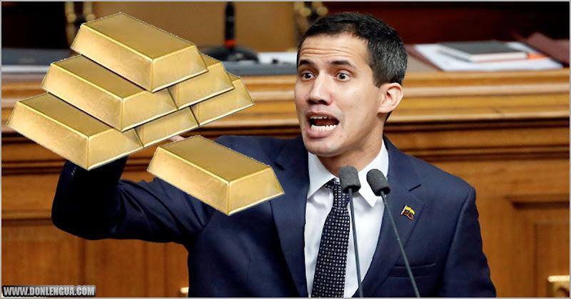 Guaidó asegura que el Oro que tenemos en Inglaterra solo será para los venezolanos pobres