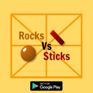 Rocks Vs Sticks - Get It On Google Play