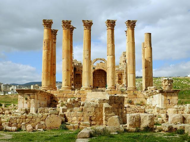 ruinas jordania