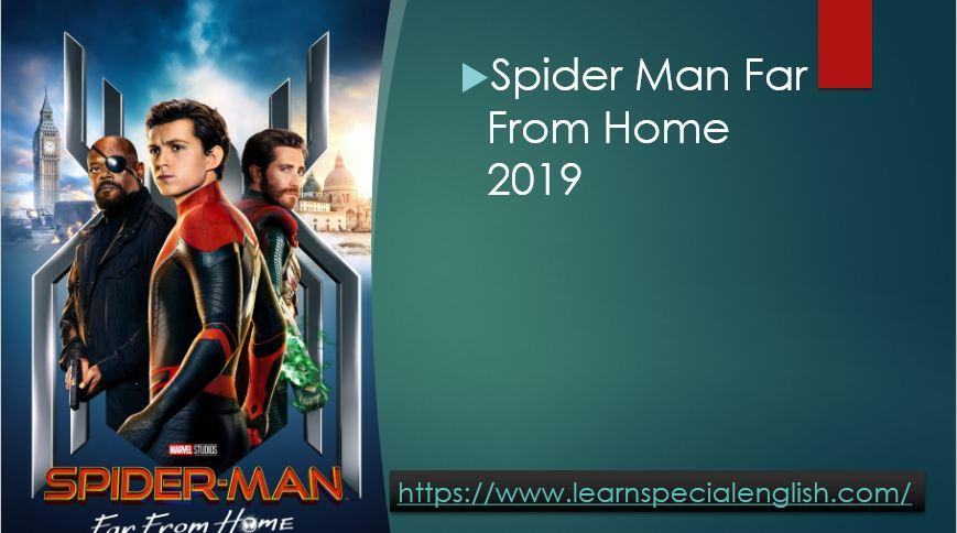 Spider Man Far From Home 2019 With English Subtitles By Mr Zaki Badr
