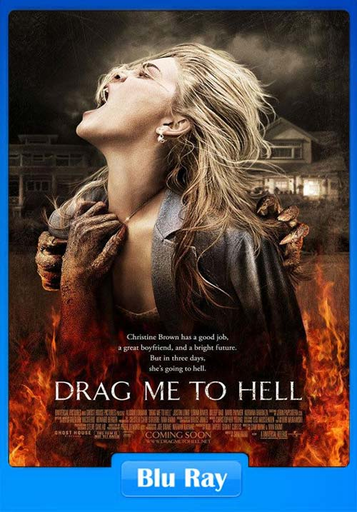 Drag Me to Hell 2009 UNRATED REMASTERED 300MB 480p BRRip x264 Poster