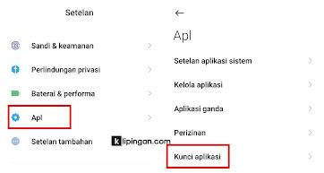 Menyembunyikan Aplikasi dengan App Lock