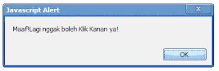 Cara Membuat Disable Right Click / Anti Klik Kanan