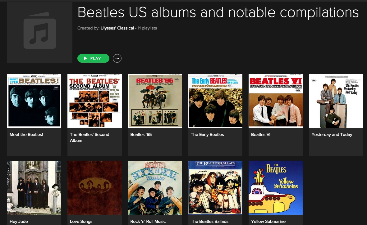 Spotify Classical Playlists